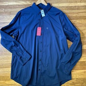 Express performance dress shirt w/ quick dry